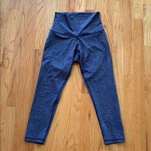 DYI Heathered Blue Signature Crops